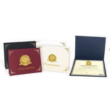 CAC Personalized Linen Certificate Folder