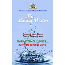 Living Waters - A Daily Prayer and Bible Devotional